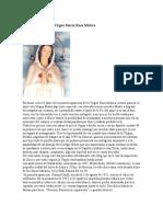13 de Julio Día de La Virgen María Rosa Mística