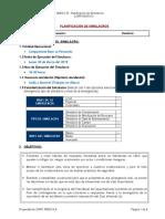 Anexo B - Planificación de Simulacro de Evacuación 30-03-2015