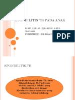 Spondilitis Tb Pada Anak