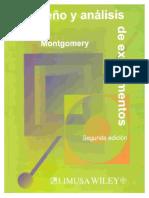 Diseño y análisis de experimentos.  Douglas Montgomery.
