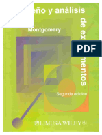 Diseño de experimentos. Montgomery. 2A. Edición
