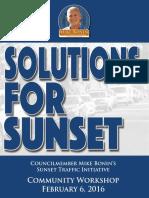 Sunset Charrette Handout
