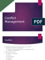 conflict management- leadership presentation