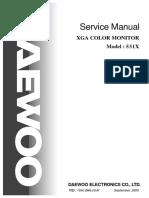 Daewoo 531x Service Manual