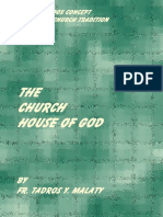 The Church House of God Fr. Tadros Malaty
