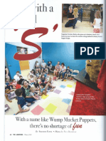 Wump Mucket Puppets feature Andovers Magazine Page 1 of 3