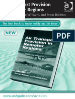 Air Transport Provision in Remoter Regions 11