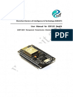 User Manual for ESP 12e Dev kit