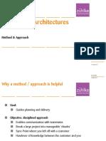UniZH HS2011 Kai Lecture3 MethApproach Architecture