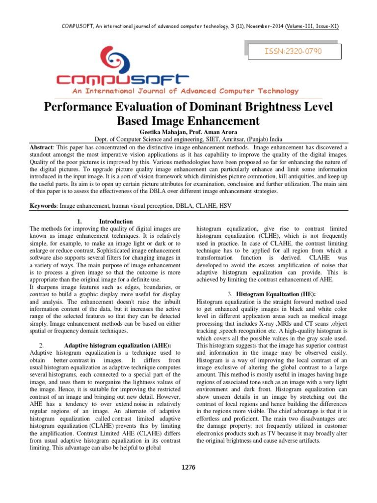 COMPUSOFT, 3(11), 1276-1281 pdf | Multidimensional Signal