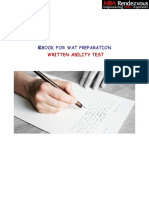 Written ability test -  Essay writing for MBA entrance - get your way into IIM ABC
