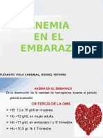 Anemia en El Embarazo (Medicina Alternativa) Exponer Final