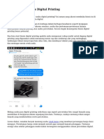 Trik Peluang Bisnis Digital Printing