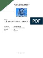 Do an Ly Thuyet Dieu Khien