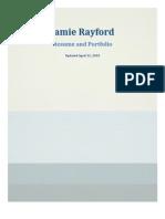 Jamie Rayford's Portfolio