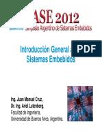 Introduccion a Los Sistemas Embebidos-SASE 2012