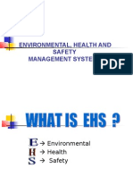 Environmental, Health and Safety Management System