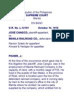Cangco v. MRR