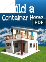 Build a Container Home Full PDF Book by Warren Thatcher