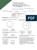 Examen Segundo Bimestre Matematicas