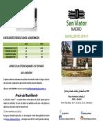 Información Bachillerato 2016 / 2017