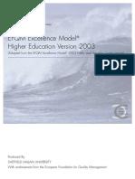 ACC-EFQM Excellence Model 2003 ENG