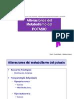 Tema 104.2. Metabolismo Hidrosalino. Potasio