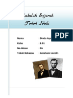 Abraham Lincoln (Makalah Sejarah)