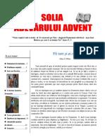 SOLIA ADEVARULUI ADVENT 11