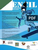 Poster. Convocatoriq para Stencil