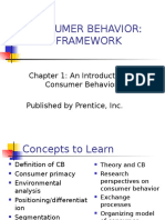 1) Introduction to Consumer Behaviour