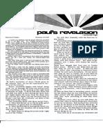 Kenneth E Hagin - Leaflet - Paul's Revelation