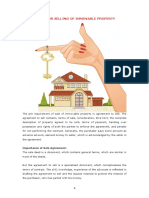Agreements for Selling of Immovable Property
