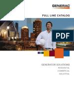 Generator Set Catalog