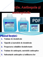 Dezinfecţia. Antisepsia şi antisepticile. (1).ppt