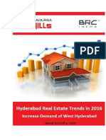 Hyderabad Real Estate Trends in 2016