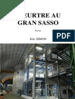 Meurtre Au Gran Sasso-Eric SIMON