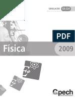 SIMULACRO FISICA - 2009