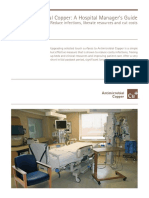Antimicrobial copper. Hospital Guide