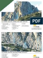 Guía de escalada de El Chorro Varios Sectores