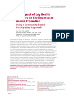 The Impact of Lay Health Advisors on.8