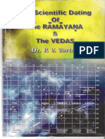 the Scientific Dating Ramayana and the Vedas P v Vartak (1)