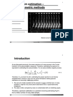 Non Parametric Estimation