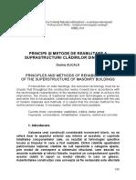 23 30 Principii Şi Metode de Reabilitare a Suprastructurii Clădirilor Din Zidărie