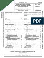 VDI 3862 Formaldehyde