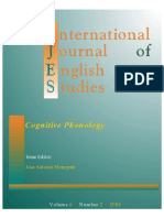 Cognitive Phonology Ijes 6 2