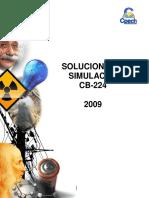 SOLUCIONARIO SIMULACRO - 2009