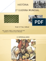 1ª GUERRA MUNDIAL (AULA ÚNICA)