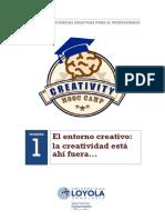 1. La Creatividad Esta Ahi Fuera