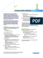SBA Methanol Strategic Business Analysis